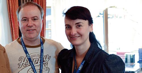 Dr. Dirk Cichon und Dr. Claudia Sudik, Tagungsleitung